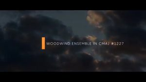 Music for Film & Video Woodwind Ensemble in C Major, Melodic 1227