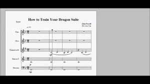 How to Train Your Dragon Suite for Woodwind Quintet