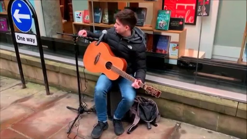 Gifted Busker