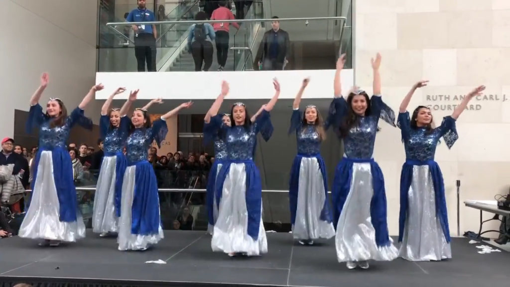 Persian Dance: Aftab Dance Group Norouz Performance at Museum of Fine Arts, Boston, USA
